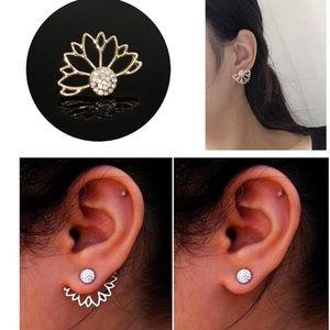 Gold style Dangle Earrings